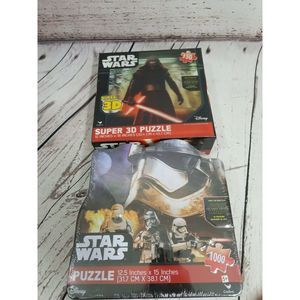 2 STAR WARS Force puzzles 1000 pc Jigsaw